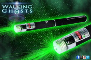 Green Laser Matrix Grid Pen Projector Ghost Hunt Paranormal Tool/UK